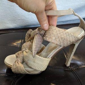 Stunning Derek Lam snakeskin shoes!!! Sz 7
